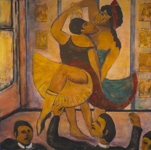 Painting of 2 Dancers